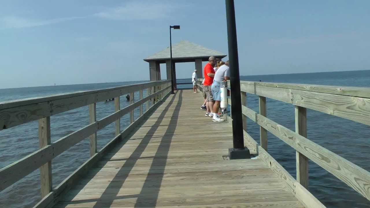 Walking The Length Of The Pier In Biloxi Mississippi Youtube