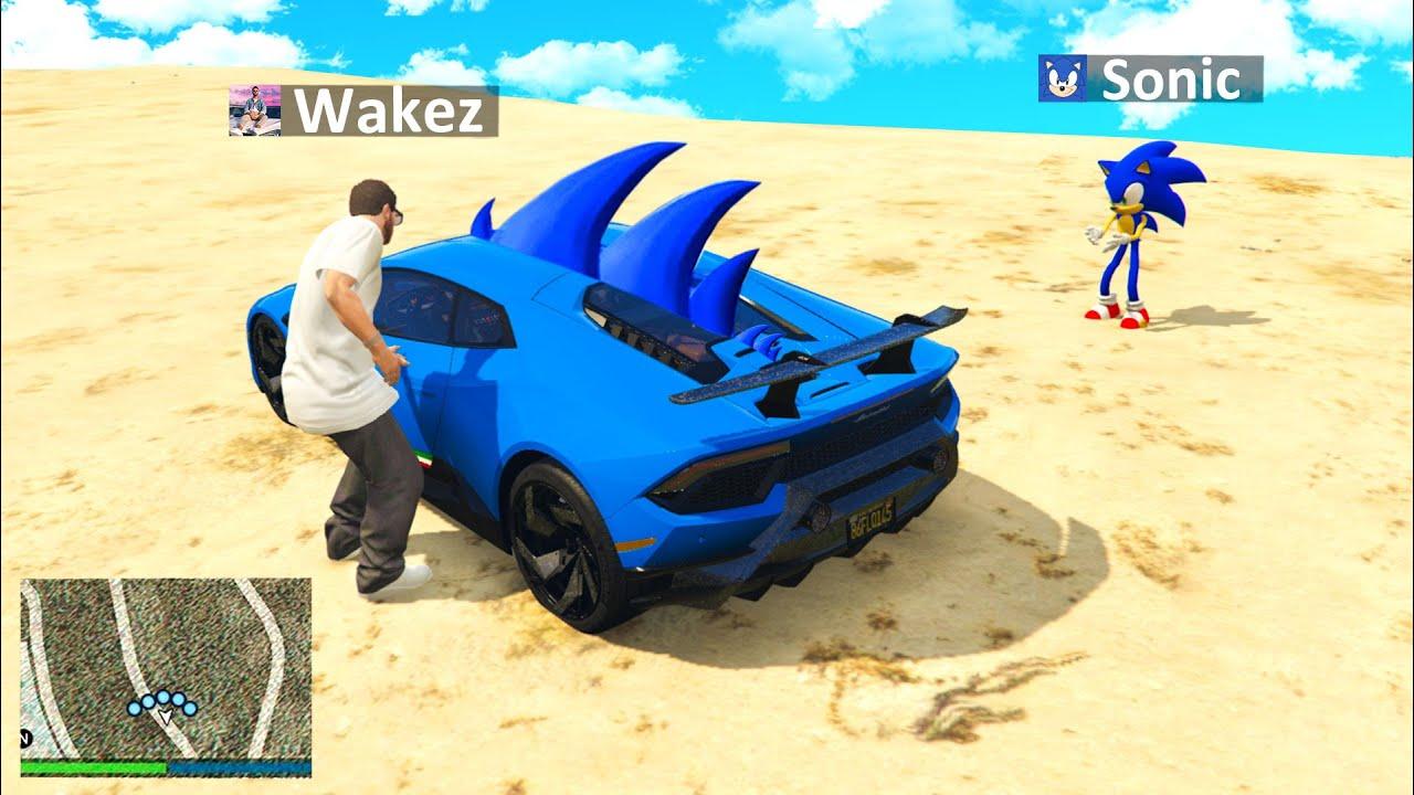 Ich KLAUE SONIC AUTO in GTA 5 RP!