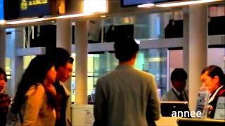 4/26の夜、空港でのミンのチェックインの様子。 ミンとは、SS501の...