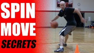 How to master the spin move in basketball (secrets to break ankles!)