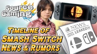 Timeline of Smash Switch News and Rumors