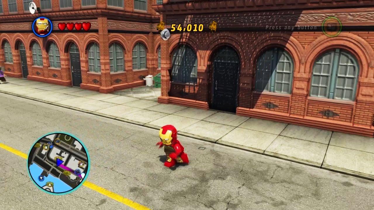 lego marvel super heroes jeux avec iron man et voiture sur playstation 4 pour les tout petits 2