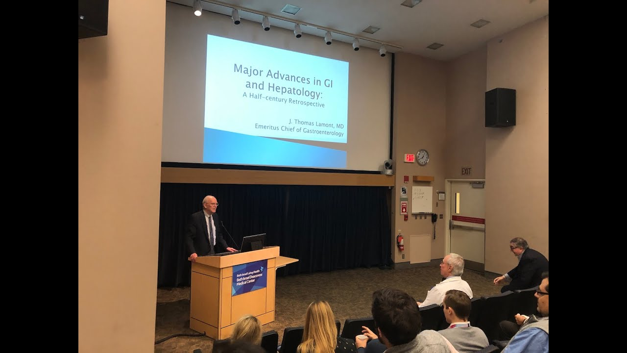 Major Advances in Gastroenterology & Hepatology: A Half-Century Retrospective (J. Thomas Lamont, MD) #Gastroenterology