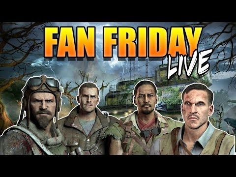 "Fan Friday (Sat Edition) ""Zetsubou No Shima"" (Call of Duty Zombies BO3)"