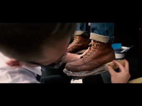 Red Wing Boots Moc Toe 875 Quick Cleaning by Jason Markk