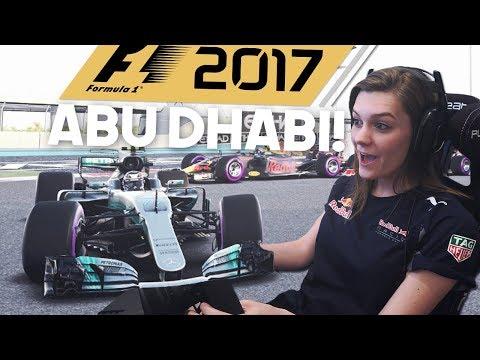 SICKE TIJD! F1: 2017 ABU DHABI! F1 ABU DHABI SETUP & TIME TRIAL 2017! #AbuDhabiGP (Formule 1: 2017)
