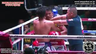 샬람 vs 뷰 / 태국 룸피니 무에타이 -57kg 경기