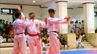 Pertandingan Serang Hindar Gianyar vs Badung (KEJURDA PERISAI DIRI BALI 2014)