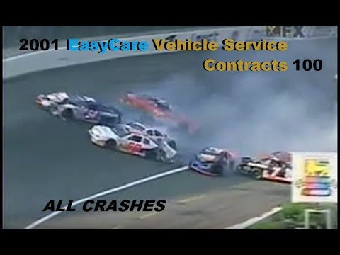 All ARCA Crashes from the 2001 EasyCare Vehicle Service Contracts