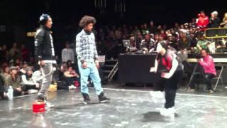 Juste Debout Japon LES TWINS 16ème 2011.1.11 tokyo Hip Hop