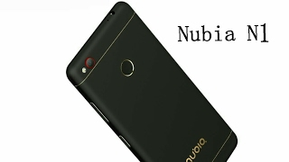 ZTE Nubia N1 распаковка.