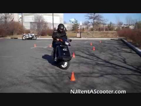 NJ DMV Motorcycle Road Test