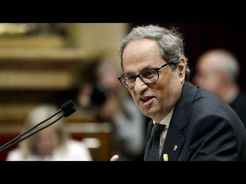 Quim Torra investit 131è president de la Generalitat de Catalunya