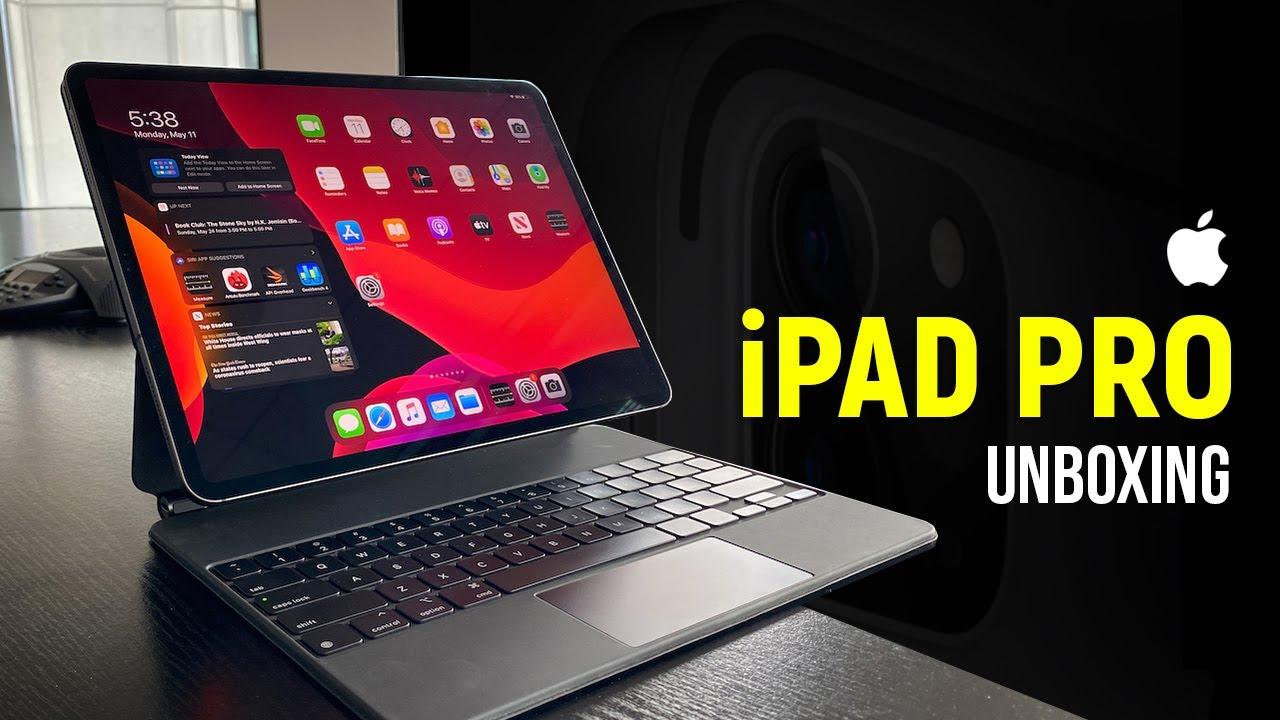 🆕 Apple iPad Pro 2020 Unboxing 👉🏾 iPad Pro Unboxing 2020 Silver and White | HashTag India