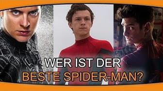 WER IST DER BESTE SPIDER-MAN?   NERDTV