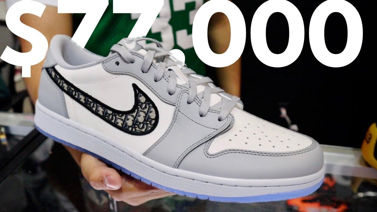 Air Jordan 1 x Dior: O tênis de 70 mil reais (vlog na Cool Kicks)