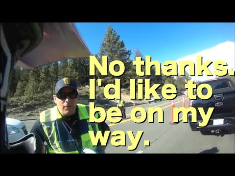 DUI Checkpoint Refusal at Tahoe Again