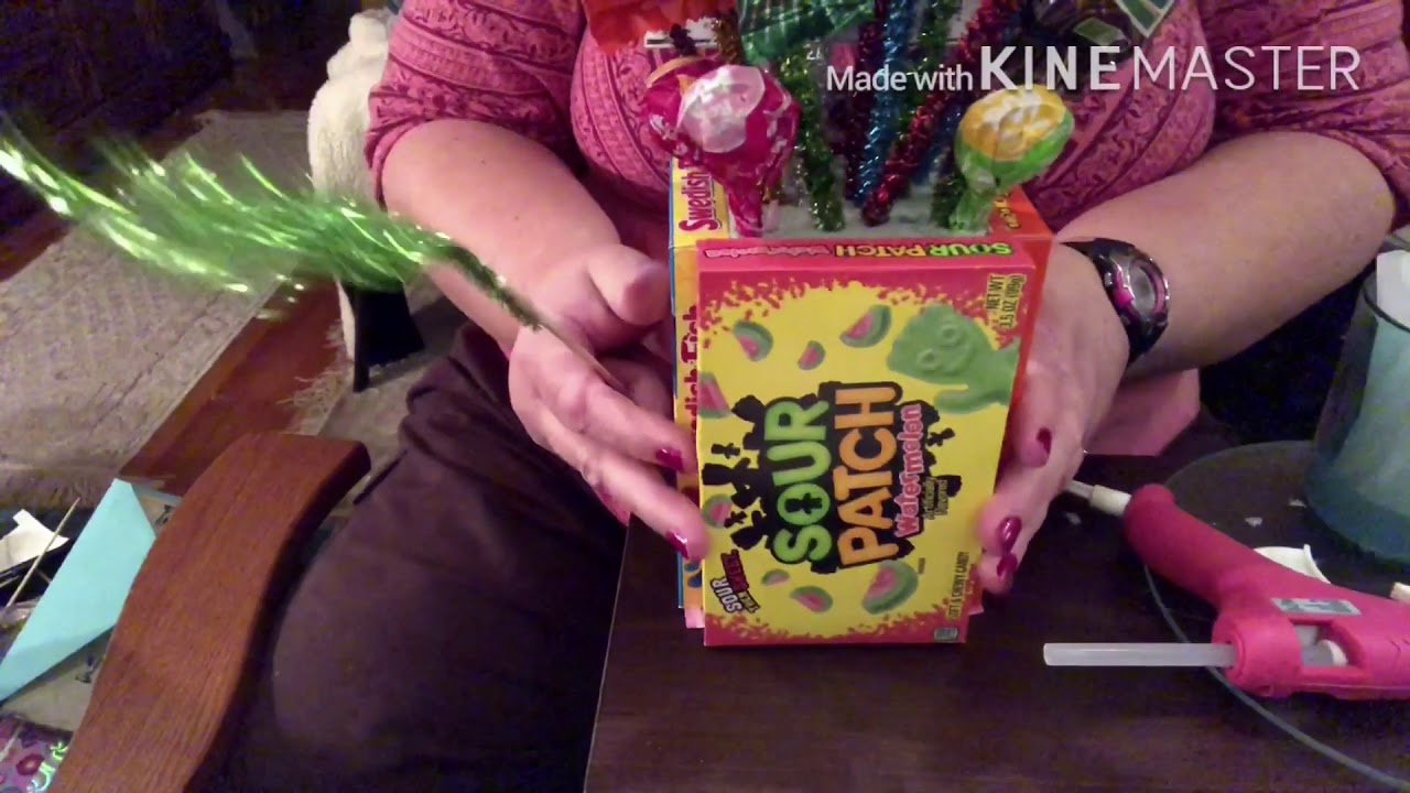 Diy Candy Gift Card Bouquet Youtube