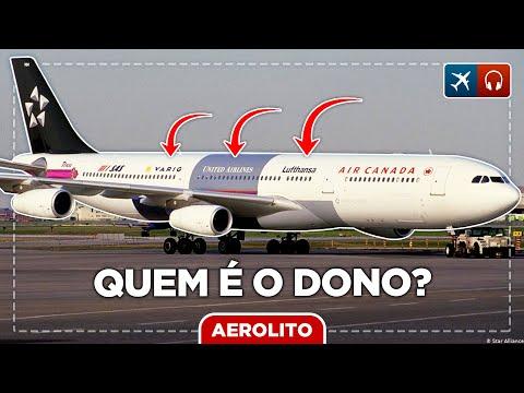 Quem é o dono dos aviões das empresas aéreas? EP #