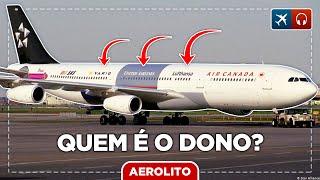 Quem é o dono dos aviões das empresas aéreas? EP #549