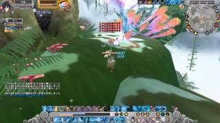 【ナインテイルオンライン】氷雪の大樹 (Lv80 5人D)