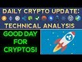 Good Day For Cryptos: Ripple Soars Higher!!! (Daily Update)