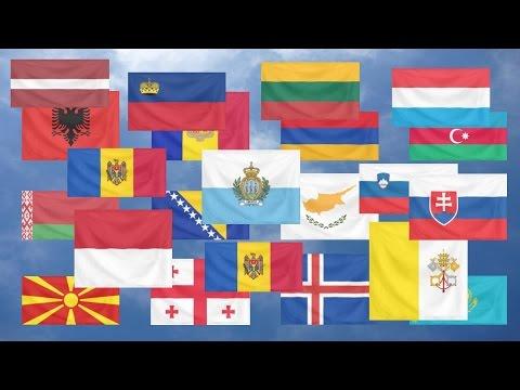 Flag Quiz, Europe.