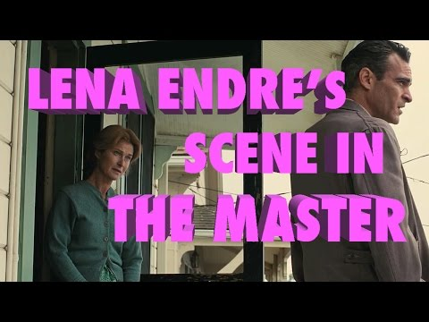 Lena Endre and Joaquin Phoenix in The Master