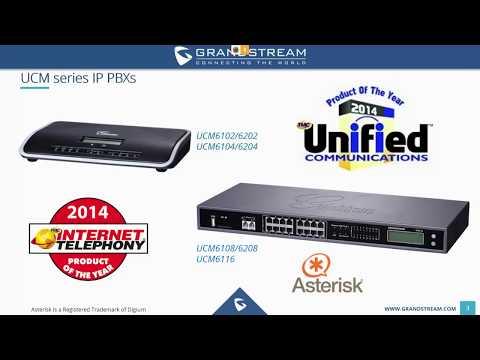 Grandstream UCM series IP PBX Training Webinar - Nov. 17, 2017