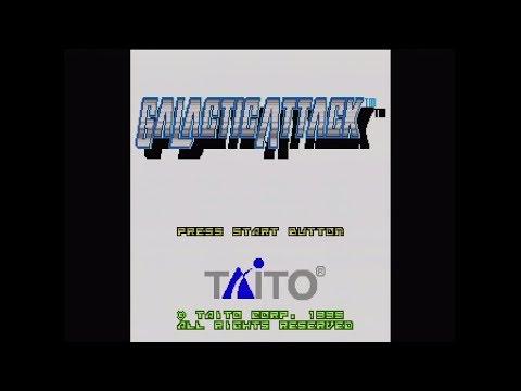 Sega Saturn - Galactic Attack 1080p60