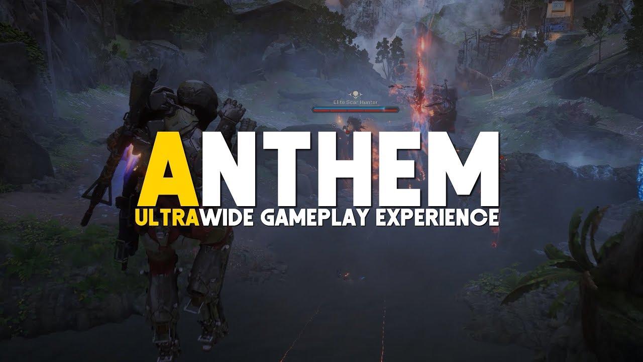 Anthem Ranger Gameplay 4k Ultra Ultrawide Rtx 2080ti Youtube