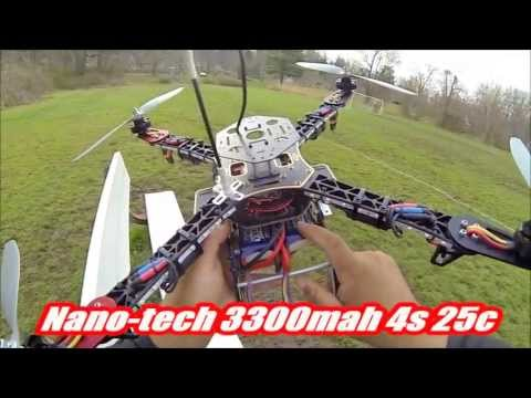 DJI F450 Heavy Lift Advance First Flight part #1
