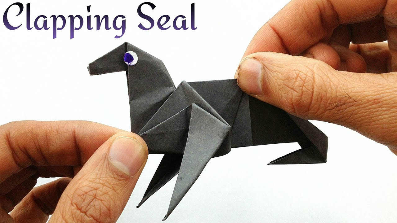 Clapping seal sea lion diy origami tutorial by paper folds clapping seal sea lion diy origami tutorial by paper folds youtube jeuxipadfo Gallery