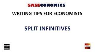 Split Infinitives: Writing Tips #16.