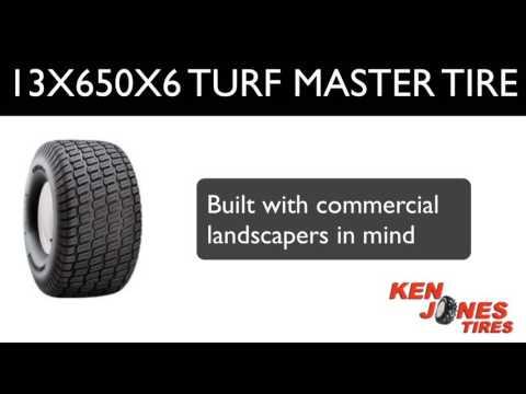 Carlisle 13X650X6 Turf Master Lawn Tires   Ken Jones Tires   1-800-225-9513