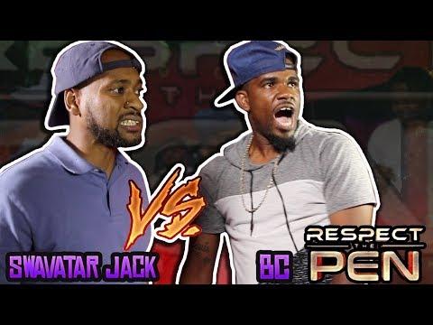SWAVATAR JACK vs B.C. (On The Spot 1 Rounder) hosted by John John Da Don | BullPen Battle League