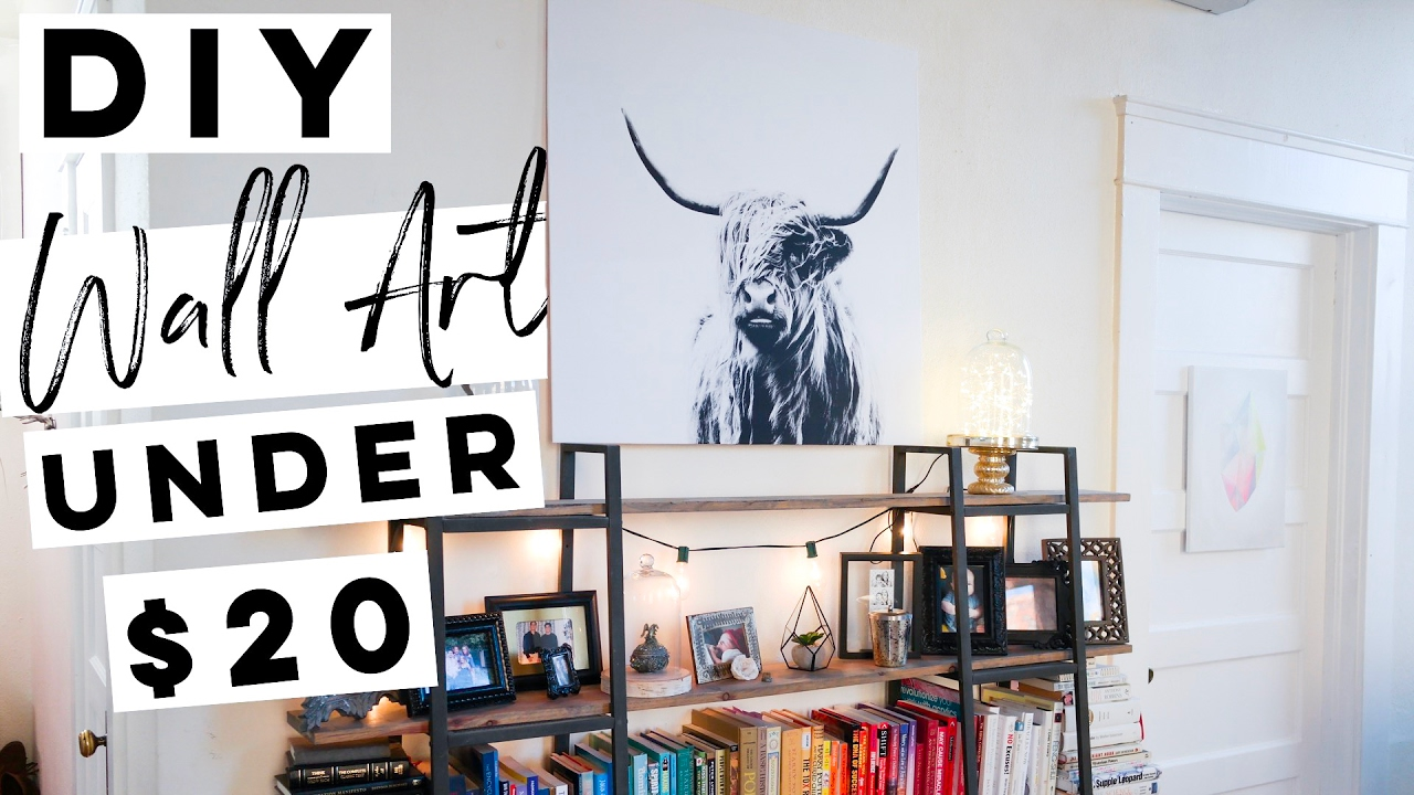 Diy Wall Decor For Under 20