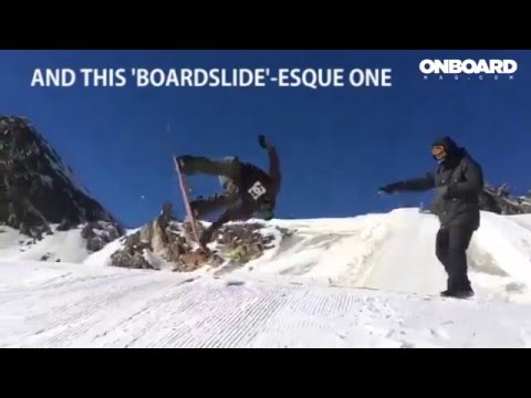 Best Knuckle Snowboard Tricks 2015 | Onboard