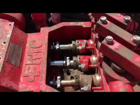 FMC Bean M12 Injection Pump