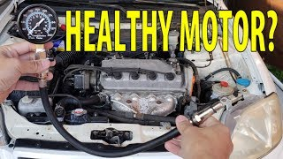 How to Compression Test and find out if your engine is healthy