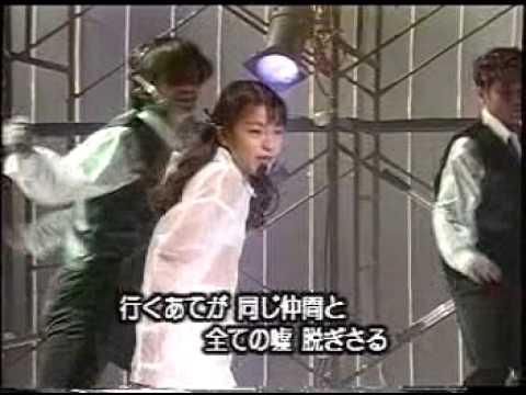 今井絵理子10歳 TRFのEZ DO DANCEを歌う