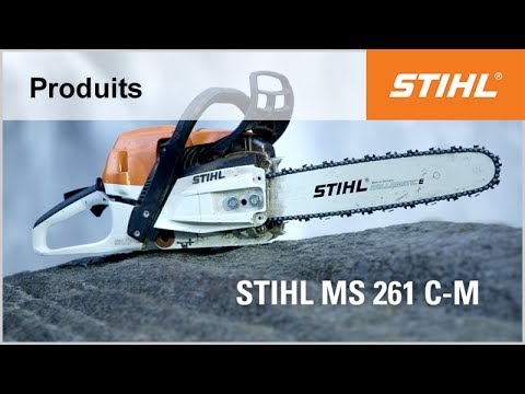d couvrez la nouvelle version de la tron onneuse ms 261 c m stihl youtube. Black Bedroom Furniture Sets. Home Design Ideas