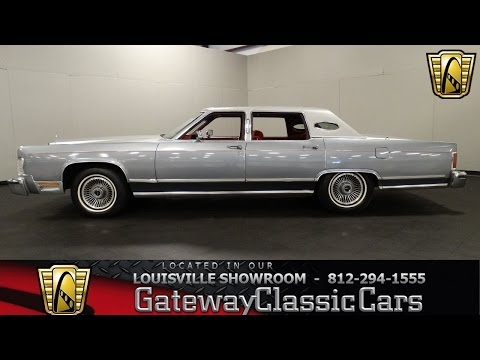 1979 Lincoln Continental Town Car - Louisville Showroom - Stock # 1472
