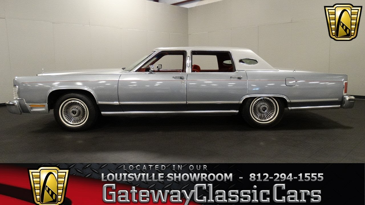 1979 Lincoln Continental Town Car - Louisville Showroom - Stock ...