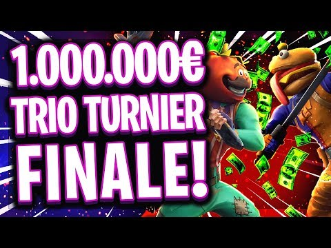 😱🏆1.000.000$ FINALE TRIO TURNIER!   Bestes Trio Europas?!