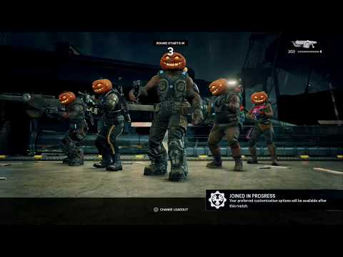 Live with Agent#36:Gears of War 4- Pumpkin Dodgeball on Harbor