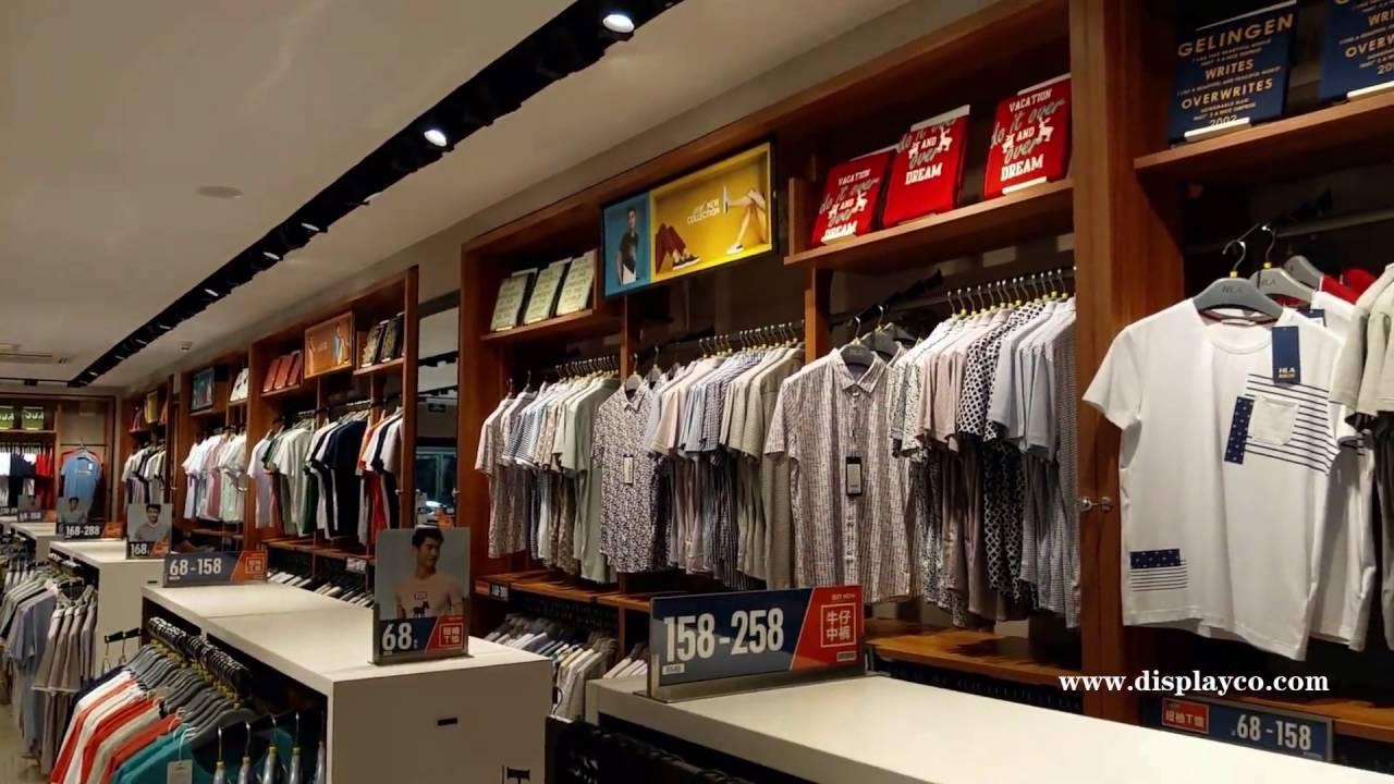 Clothes Showcase For Manclothes Racks Man Garment
