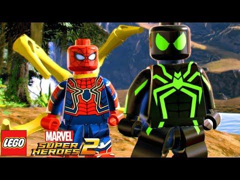 LEGO Marvel Super Heroes 2 SPIDER-MAN BIG TIME SUIT MOD / HOMEM-ARANHA TRAJE FURTIVO PS4 MOD