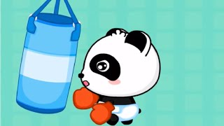 Baby Panda Healthy Eater | Learning Healthy Eating Habits | Babybus Kids Games