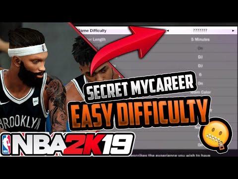 NBA 2K19 | HOW TO MAKE MyCareer EASY!!!!!!!